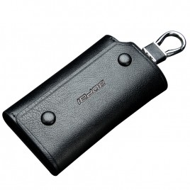 Luxury leather Key Organizer Bag B0702 Black