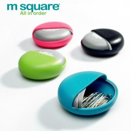 M SQUARE cute multifunction plastic pill storage case