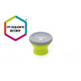 M SQUARE  collapsible  silicone mugs cups for traveling