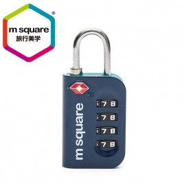 MSQUARE safe travel TSA password zinc alloy material door cabinet lock for luggage