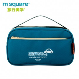 M SQUARE Cyber pack & multifunctional bag (Blue)